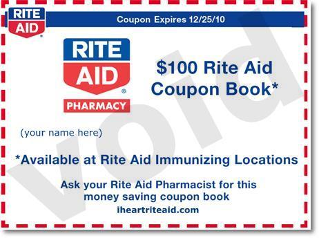 i heart rite aid 128 coupon book