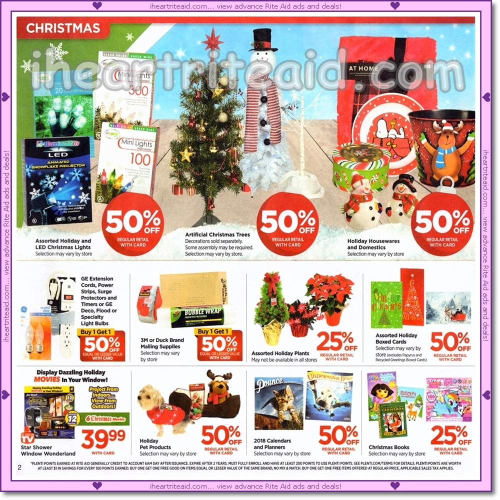 Rite Aid Christmas Hours.I Heart Rite Aid Ad Scans 12 17 12 23