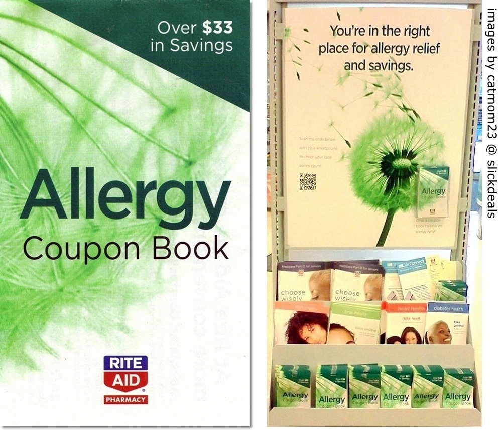 i heart rite aid allergy coupon book exp 06 15 12