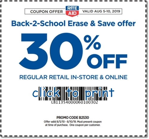 rite aid photo discount coupon code