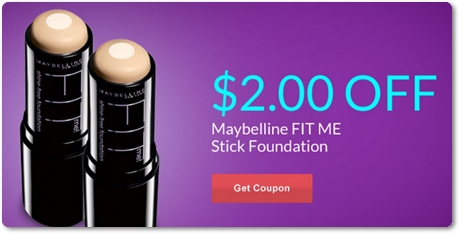Shop with a Maybelline coupon to save up to $2 off concealer, mascara and more. Print a coupon from our page, or download a digital offer to your favorite shopping app. To get coupons emailed to you, sign up for the Maybelline email newsletter.